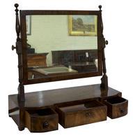 Regency Period Mahogany Dressing Table Mirror (2 of 7)