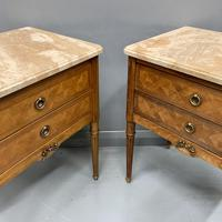 Set of 4 French Marble Top Side Tables (11 of 11)