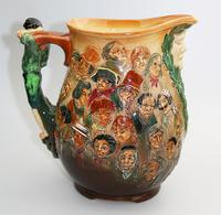 Fine & Large Royal Doulton Dickens Dream Novelty Jug by Noke c.1933 (3 of 10)