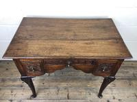 Antique 19th Century Carved Oak Lowboy Side Table (8 of 17)