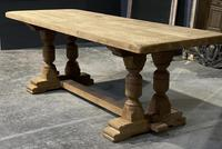 French Oak Refectory Farmhouse Dining Table (3 of 12)