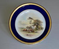 Royal Worcester Dish 1914 - Hand-painted Lowland Cattle by John Stinton, (2 of 9)