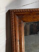 19th Century French Burr Walnut Wall Mirror (17 of 19)