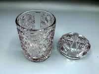 English Victorian Glass Pickle Jar c.1891 'G Davidson - Gateshead' (3 of 7)