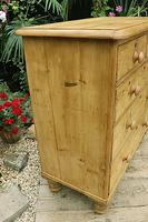 Gorgeous Old Pine Chest of Drawers (3 of 8)