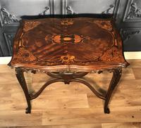 Quality Inlaid Walnut Occasional Table (7 of 18)