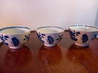 First Period Worcester Tea Bowls (4 of 7)