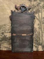 19th Century Mahogany Wall Mirror with Eagle Decoration (5 of 6)