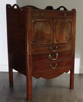 George III Mahogany Tray-top Bedside Commode (6 of 8)