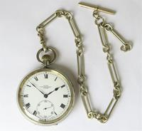 1920s Kays Standard Lever Pocket Watch & Chain (2 of 5)