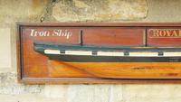 Antique Half Hull Iron Ship Royale (2 of 6)