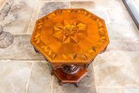 Victorian Oak Octagonal Table (13 of 15)