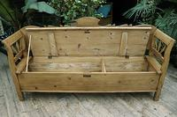 Fabulous Old (Victorian) Hungarian Box/ Storage/ Hall Bench (5 of 11)