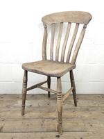 Four 19th Century Farmhouse Kitchen Chairs (8 of 12)