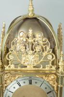 Fine Quality Late Victorian Brass W&H Lantern Mantel Clock (9 of 9)
