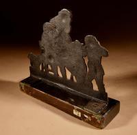Original Painted Cast Iron Ornament (3 of 4)