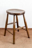 Victorian Antique Stool with a Wonderful Figured Top (4 of 4)