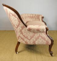 Victorian Carved Mahogany Frame Sofa (9 of 11)