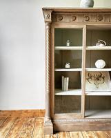 Antique Victorian Bookcase / Cabinet / Bookshelf (5 of 7)