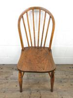 Pair of Antique Hoop Back Farmhouse Chairs (8 of 13)