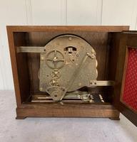 Walnut Chiming Elliott Mantel Clock (10 of 10)