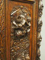 Flemish Carved Oak Grandfather Clock (9 of 13)