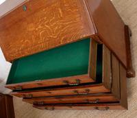 Georgian Oak Writing Bureau Cabinet (10 of 12)