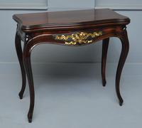 French Louis XV Mahogany Side Table / Hall Table (16 of 16)