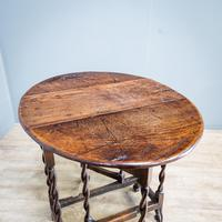 Early 18th Century Drop Leaf Table (9 of 10)