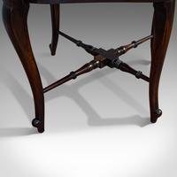 Antique Corner Armchair, French, Beech, Seat, Art Nouveau, Victorian c 1890 (6 of 12)
