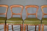 4 Victorian Mahogany Dining Chairs (4 of 12)