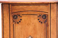 19th Century Pitch Pine Bedside Cabinet (8 of 13)