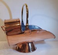 Good Quality 19th Century Copper Coal Scuttle (2 of 5)