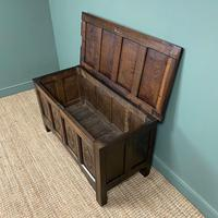 17th Century Period Oak Antique Carved Coffer (7 of 8)
