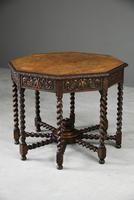 Victorian Octagonal Centre Table (5 of 12)