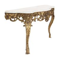 Gilt and Marble Console Table (5 of 10)