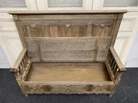 Bleached Oak Hall Bench (7 of 15)