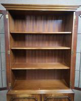 Mahogany Bookcase Bevan Funnell Reprodux V649 (5 of 10)
