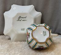 Limoges Hand Painted Cup and saucer. (2 of 4)