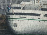 1950's Watercolour RMS Empress of England & Britain Liner Ships Liverpool Mersey (9 of 12)