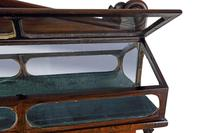 George IV Rosewood Chiffonier Display Cabinet (5 of 8)