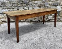 Large French Sycamore & Elm Farmhouse Table (14 of 21)