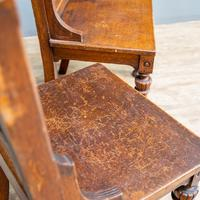 Pair of Arts & Crafts Hall Chairs (10 of 13)
