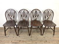 Set of Four Wheelback Dining Chairs (3 of 11)