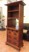 Arts & Crafts Liberty and Co Bookcase 1900 (10 of 10)
