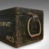 Antique Shipwright's Chest, English, Craftsman's Tool Trunk, Victorian, 1900 (10 of 12)