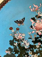 Antique Pair of Japanese Cloisonne Plates, Meiji Period (4 of 12)