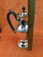 """Antique Silver Plate """"Martinoid"""" Coffee Pot -  Martin Hall & Co , C1900 - Sheffield (3 of 8)"""