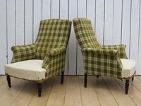 Pair of Napoleon III French Armchairs for re-upholstery (9 of 9)