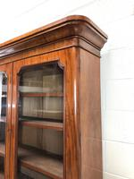 Antique Mahogany Two Stage Bookcase (8 of 10)